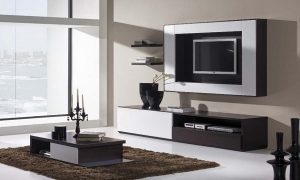 TV Wall Unit Design by Ideas Kitchens