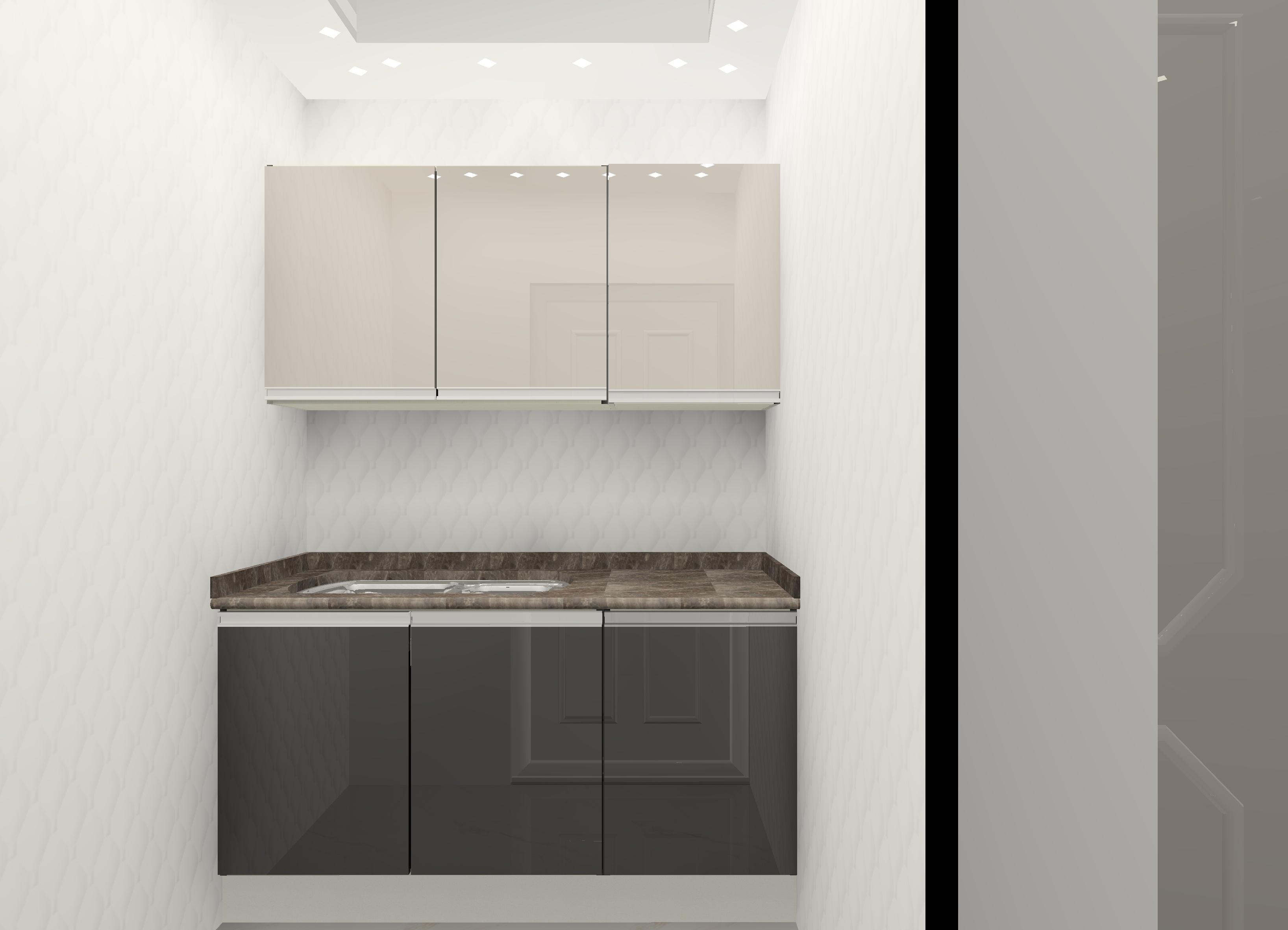 GF B-SIDE 4 - Gwalior Modular Kitchen Design by Ideas Kitchens