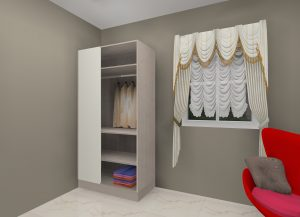 Best Blind Wardrobe Designs by Ideas Kitchens in Delhi India